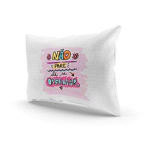 Almofada Decorativa - Não pare