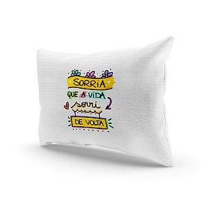 Almofada Decorativa - Sorria