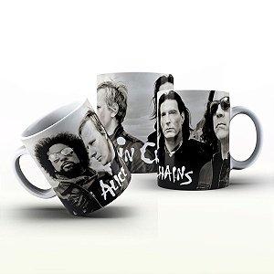 Caneca Personalizada Bandas  - Alice In Chains