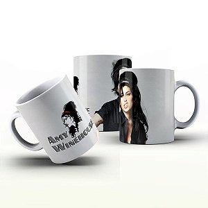 Caneca Personalizada Bandas  - Amy Winehouse