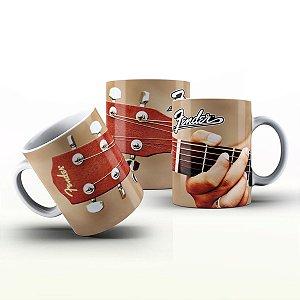 Caneca Personalizada Bandas  - Fender