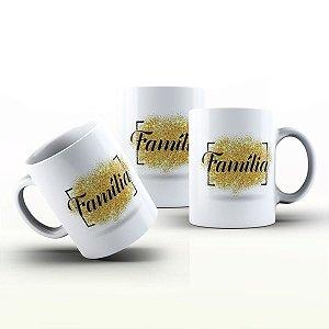 Caneca Personalizada Frases  - Amo a Família