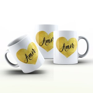 Caneca Personalizada Frases  - Amor