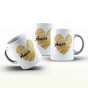 Caneca Personalizada Frases  - Amor que tenho