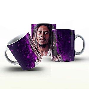 Caneca Personalizada Celebridades  - Bob Marley