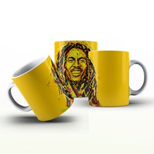 Caneca Personalizada Celebridades  - Bob Marley 2