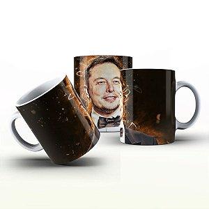 Caneca Personalizada Celebridades  - Elon Musk