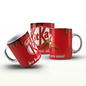 Caneca Personalizada Divertidas  - Kit Kat