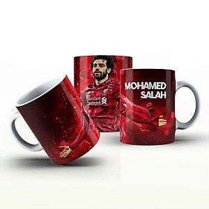 Caneca Personalizada Futebol  - Mohamed Salah