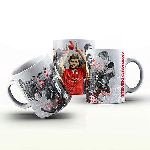 Caneca Personalizada Futebol  - Steven Gerrard