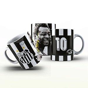 Caneca Personalizada Futebol  - Pelé Santos