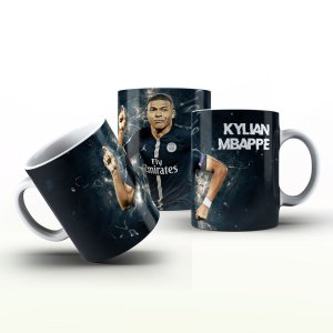 Caneca Personalizada Futebol  - Kylian Mbappé