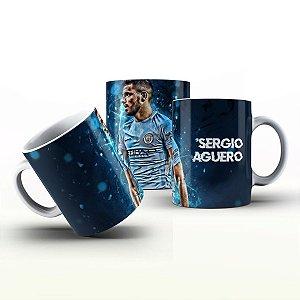 Caneca Personalizada Futebol  - Sergio Agueiro