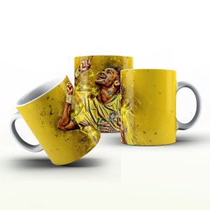 Caneca Personalizada Futebol  - Neymar