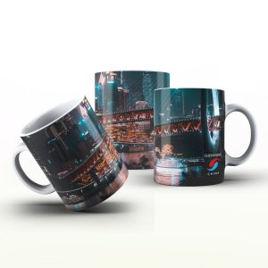 Caneca Personalizada Lugares   - Chongqing