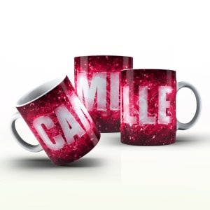 Caneca Personalizada X Tudo - Camille