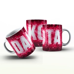 Caneca Personalizada X Tudo - Dakota