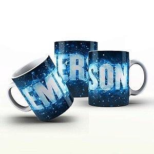 Caneca Personalizada X Tudo - Emerson