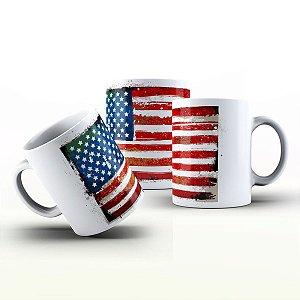 Caneca Personalizada X Tudo - Estados Unidos