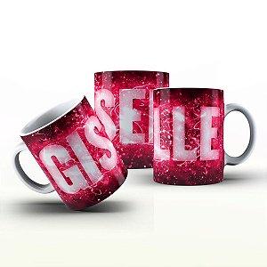 Caneca Personalizada X Tudo - Giselle