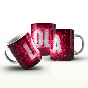 Caneca Personalizada X Tudo - Lola