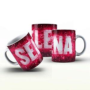 Caneca Personalizada X Tudo - Selena