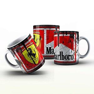 Caneca Personalizada Automóveis  - Ferrari Malboro