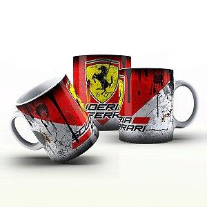 Caneca Personalizada Automóveis  - Scuderia Ferrari