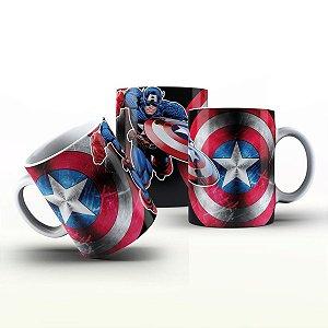 Caneca Personalizada Heróis  - Capitão América 2