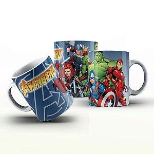 Caneca Personalizada Heróis  - Avengers