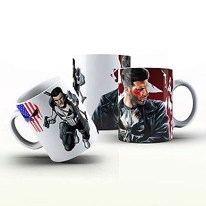 Caneca Personalizada Heróis  - Punisher