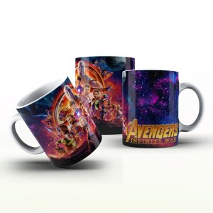 Caneca Personalizada Heróis  - Avengers Infinity