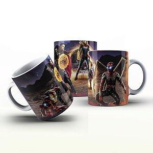 Caneca Personalizada Heróis  - Quarteto Marvel