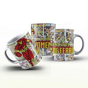 Caneca Personalizada Heróis  - Invencível Iron Men