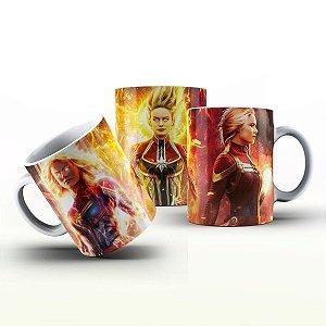 Caneca Personalizada Heróis  - Capitã Marvel 2
