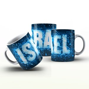 Caneca Personalizada X Tudo - Israel