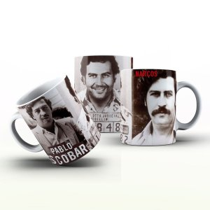 Caneca Personalizada Seriado - Pablo Escobar