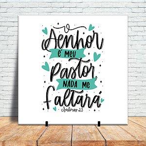 azulejo decorativo - O Senhor é o meu pastor