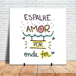 Azulejo Decorativo - Espalhe amor