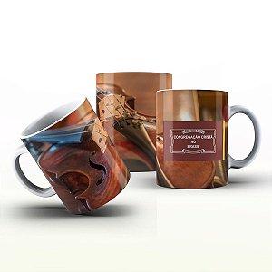 Caneca Personalizada Gospel - Violino 2 CCB