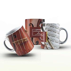 Caneca Personalizada Gospel - Violino CCB