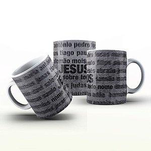 Caneca Personalizada Gospel - Jesus Sobre tudo