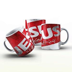 Caneca Personalizada Gospel - Jesus rei dos reis