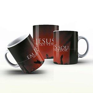 Caneca Personalizada Gospel - Em Jesus