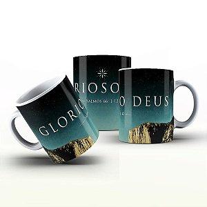 Caneca Personalizada Gospel - Glorioso Deus