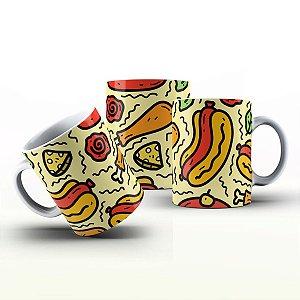 Caneca Personalizada Gourmet - Hot Dog