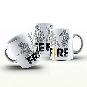 Caneca Personalizada Game - Free Fire