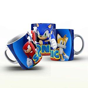 Caneca Personalizada Game - Sonic 2