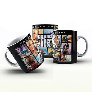 Caneca Personalizada Game - Grand Theft Auto