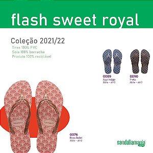 Havaianas Flash Sweet Royal Personalizada